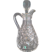 SALE Fostoria American Cruet 6 3/8 IN 5 OZ