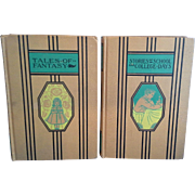 Young Folks Library Tales of Fantasy & Stories of School and College Days 4th Edition 1945