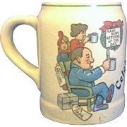 SALE Celebration Happy Birthday for Papa Small Stein Mug Tankard