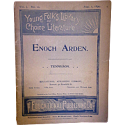 Enoch Arden Tennyson Young Folks Library of Choice Literature Booklet 1894