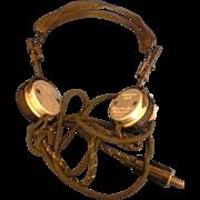 SALE American Bell Wayland Radio Headset Headphone Telephone Operator