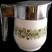 Gemco Spring Blossom Crazy Daisy Cream Pitcher