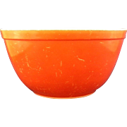 SOLD Pyrex Red Primary Mixing Bowl 402 Size Scratched Paint