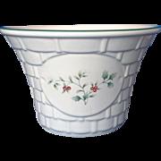Pfaltzgraff Winterberry Basket Weave Small Bowl