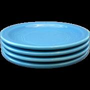 Syracuse Cantina Blueberry Bread Plates Set of 4