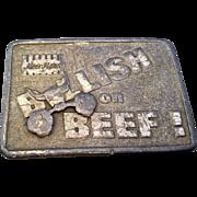 Moorman's Bullish on Beef Pewter