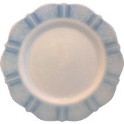 American Sweetheart Monax 9 IN Luncheon Plate MacBeth-Evans Depression Glass