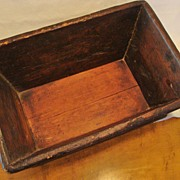 Early 1900's: Old Wooden Trough