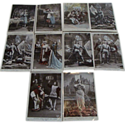 Circa 1910: French Jeanne d' Arc ,Complete Postcard Collection