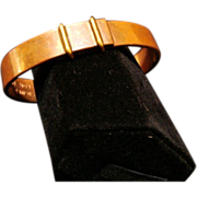 Crica 1950's:  Copper Bracelet by Tiffany & Company