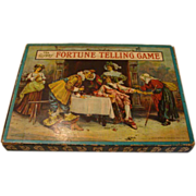 "1901 Edition: "" The Gypsy Fortune Telling Game "" by Milton Bradley"