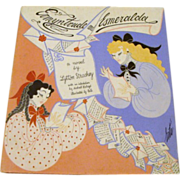 "1969 : Erte Signed First Edition "" Ermyntrude & Esmeralda "" by Lytton Strachey"