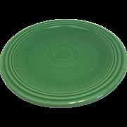 Vintage Medium Green Fiesta 6 in Plate