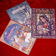 """SALE Three Volumes """"Christmas: An American Annual of Christmas Literature and Art"""","""