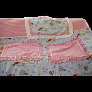 Best Vintage Childs Duvet Cover and Pillow Cases Children Scottie Dogs