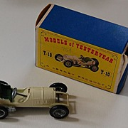 vintage GRAND PRIX MERCEDES (w/Original Box) - Yesteryear / Lesney  Y10-1 / 1908