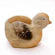 Germany Pin Cushion Chick Bisque & Velvet