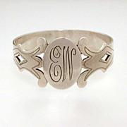 Sterling Finger Ring Style Napkin Ring