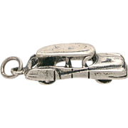 Danecraft Sterling Classic Car Bracelet Charm CITROEN