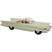 SALE PENDING 1956 Lincoln Futura Concept Car Plastic Model by Revell, Inspiration for Bat ...
