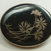 SALE Antique Victorian enamel brooch