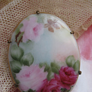Victorian Porcelain Pin Roses