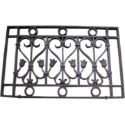 Antique Grate, Fencing, Restoration, Renovation, Shabby Chic, Cottage Style Decor, ...