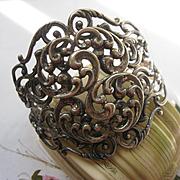 SALE Sterling Danecraft Cuff Bracelet