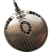 Circa 1920 Paste Locket in Gold Fill