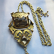 Antique Egyptian Revival Necklace