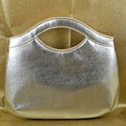 Vintage Shimmering Silver Miss Lewis Clutch Purse Evening Bag