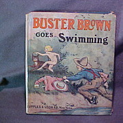 Buster Brown Goes Swimming Illustrated Book
