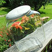 SOLD Original 1930's Planters Peanuts Country Store Display Jar