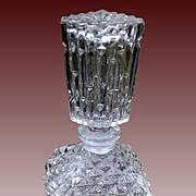 SOLD Vintage Diamond Point Perfume Bottle