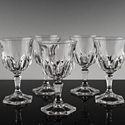 Claret Wine Glasses Made in France