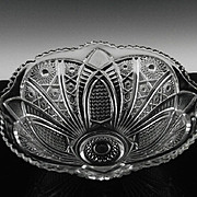 SALE Collectors Crystal Bowl by Imperial Glass ca 1975