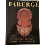 Faberge and The Russian Master Goldsmiths Beaux Arts Editions by Hill HBDJ
