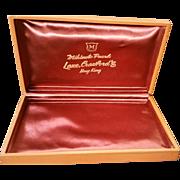SALE 1961 Mikimoto Pearls Lane Crawfords Hong Kong Display Presentation Gift Box Only