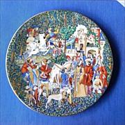 Unicorn Collectors Plate: Hunt of the Unicorn