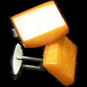 Butterscotch Amber Cufflinks