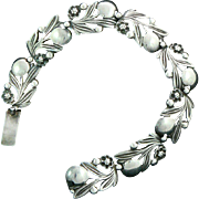 Bernard Instone Arts and Crafts Bracelet Sterling Silver England