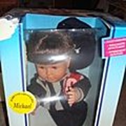 SALE NRFB Hot Tots Feber Poseable Doll named Michael