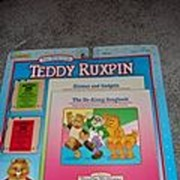 REDUCED NRFB Two Smaller Teddy Ruxpin Tapes and Books