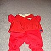 REDUCED Teddy Ruxpin's Red Flying Outfit