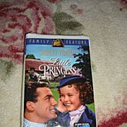 "SALE NRFP Shirley Temple VHS Tape ""The Little Princess"""