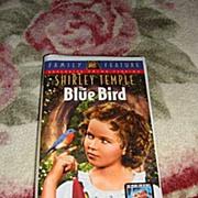 "SALE NRFP Shirley Temple VHS Tape ""The Blue Bird"""