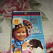 """SOLD NRFP Shirley Temple VHS Tape """"The Little Colonel"""" - Red Tag Sale Item"""