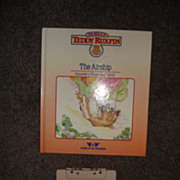 """WOW Teddy Ruxpins Book and Tape- """"The Airship"""""""