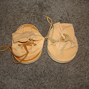 Xavier Roberts Furskin Bear Original Shoes