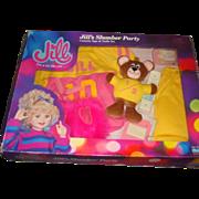 NRFB Talking Jill's Slumber Party Set